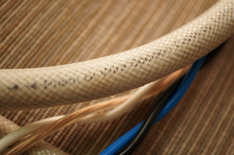 Tara Labs Prism BiWire neutrik speakon cable for REL subwoofer  (2 meter) Dsc09626