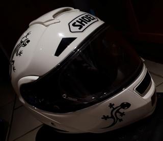 Déco perso sur casque Néotec - VINYLIDEAL 20180312
