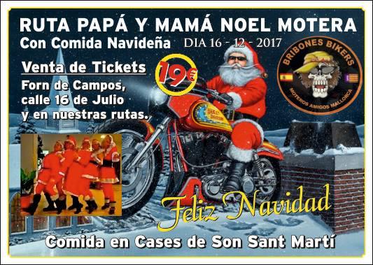 RUTA PAPA NOEL Y MAMA NOEL CON COMIDA NAVIDEÑA Papano10