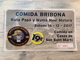 RUTA PAPA NOEL Y MAMA NOEL CON COMIDA NAVIDEÑA Ticket10