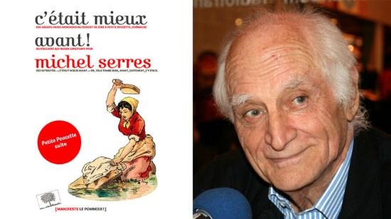 Lettre de  Jacques Vecker à Michel Serres de l'Académie française. Cetait10