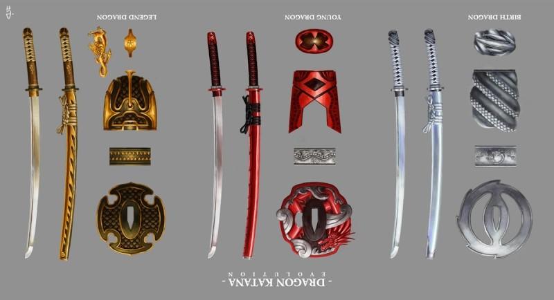 Dragon Katanas  Dragon10