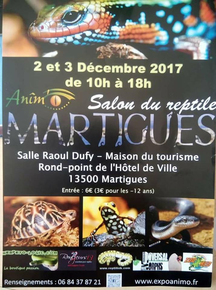salon du reptile de martigues -les 2 et 3 décembre 2017 22127310