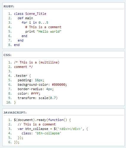Code Highlight Select Code_010