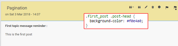 [Tutorial] Show the first post reminder in specific topics First_13