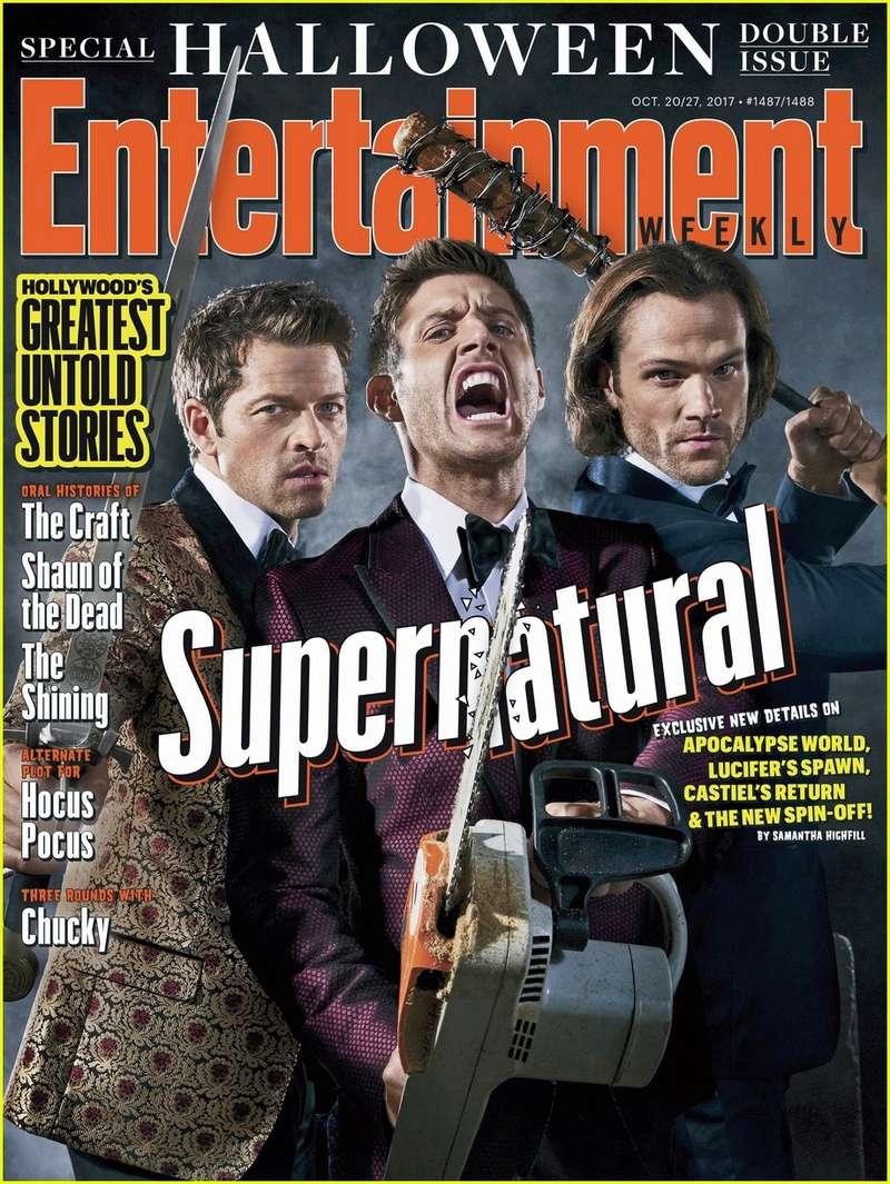 Entertainment Weekly Magazine : Halloween 2017 Photoshoot Supern12