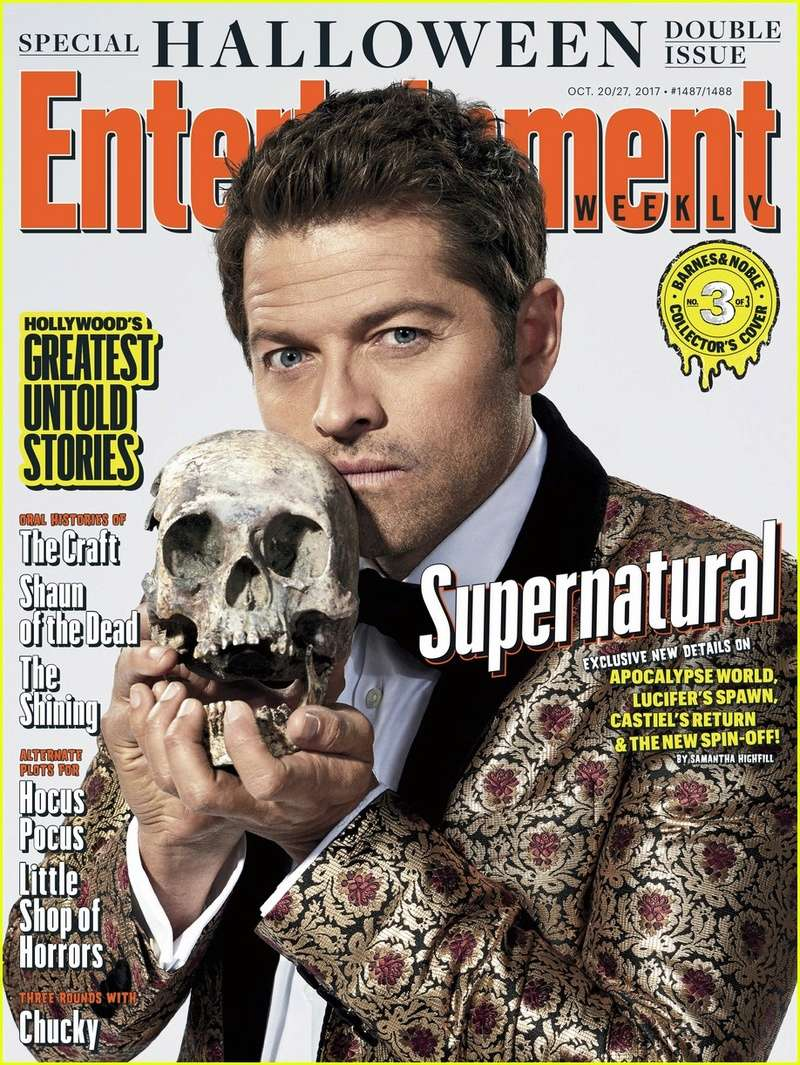 Entertainment Weekly Magazine : Halloween 2017 Photoshoot Supern13