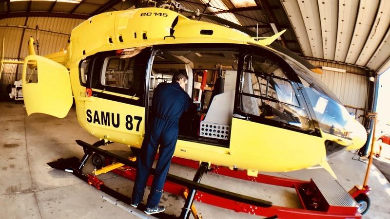 Premiers EC145 (BK117C2) en SAMU en France Img_1611