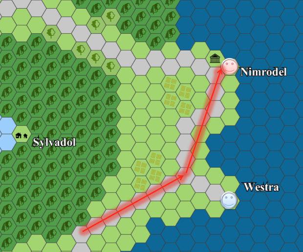 Cartes du continent d'Eorpa Elemen10