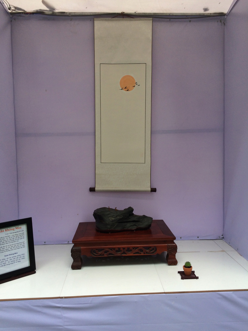 Suiseki viewing stone exhibition in Viet Nam Hhx20115
