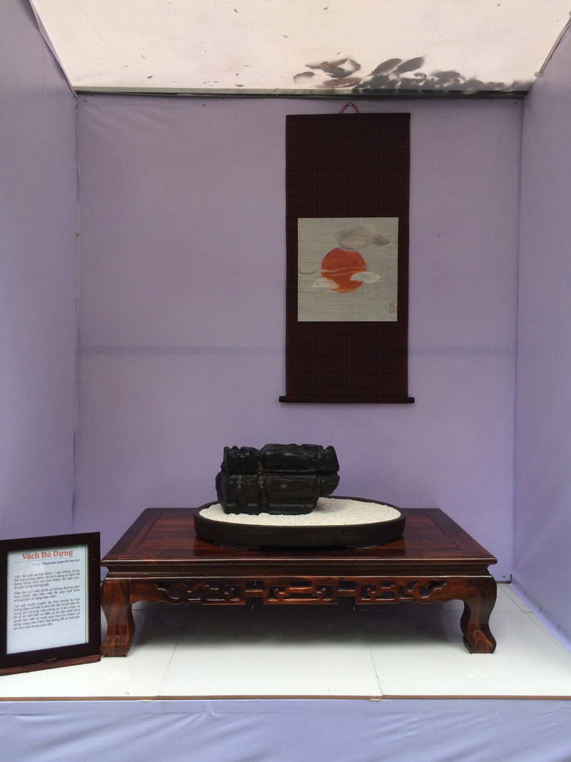 Suiseki viewing stone exhibition in Viet Nam Hhx20117