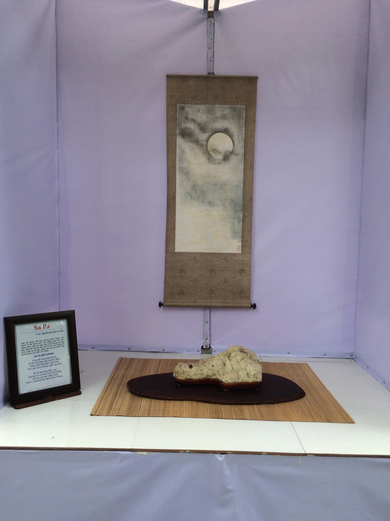 Suiseki viewing stone exhibition in Viet Nam Hhx20121