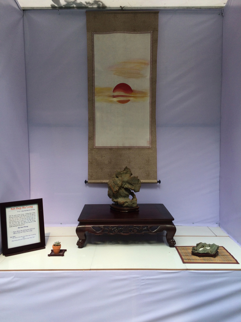 Suiseki viewing stone exhibition in Viet Nam Hhx20123