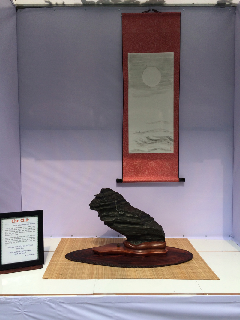 Suiseki viewing stone exhibition in Viet Nam Hhx20124