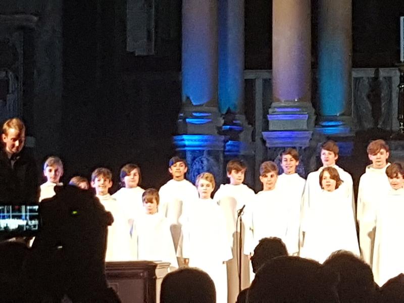 Concert à la cathédrale de Westminster (initialement St George's) le 1er décembre 2017 - Page 3 20171243