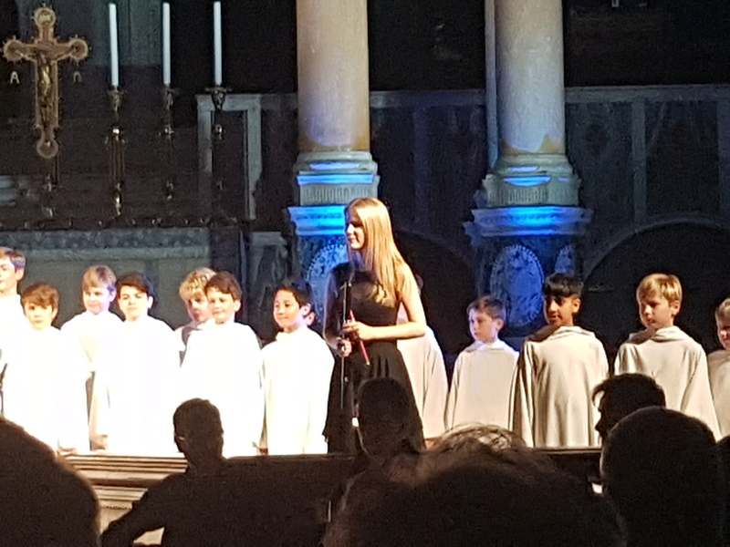 Concert à la cathédrale de Westminster (initialement St George's) le 1er décembre 2017 - Page 3 20171245