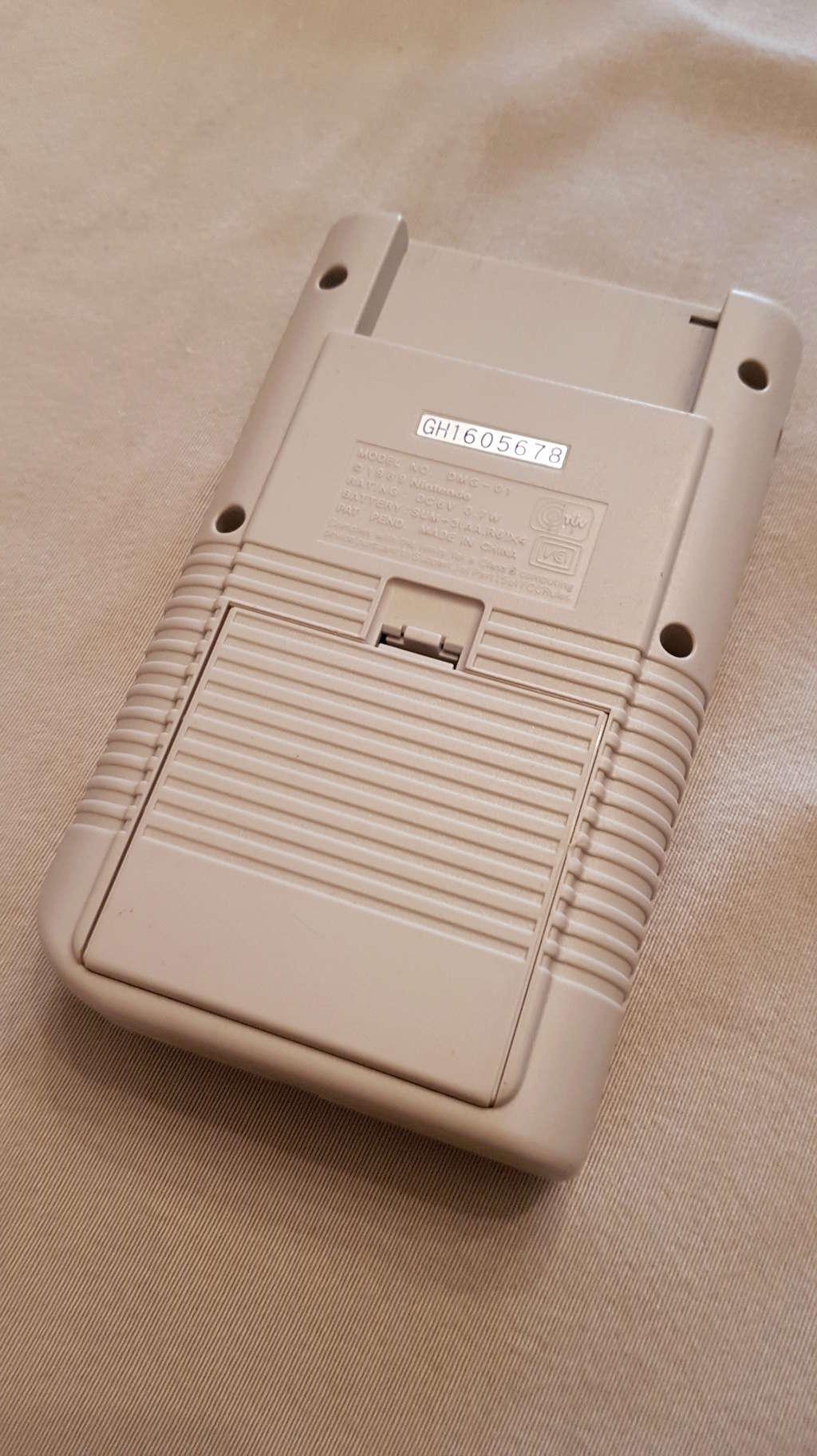 [ESTIM] Game Boy et jeux 20180522