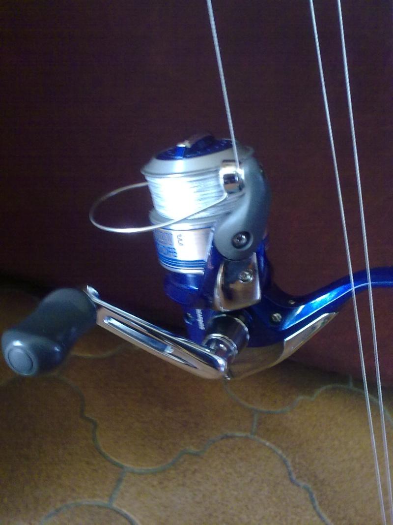 Canne Garbolino jetlure fw ;2,4m;15-50grs+ moulinet shimano nexave 2500 12032010
