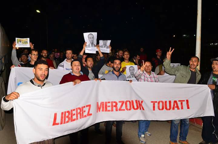 Rassemblement citoyen à aokas samedi 02 juin 2018 pour la libération de Merzouk Touati 10402