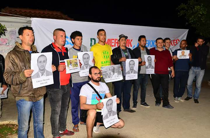 Rassemblement citoyen à aokas samedi 02 juin 2018 pour la libération de Merzouk Touati 10404