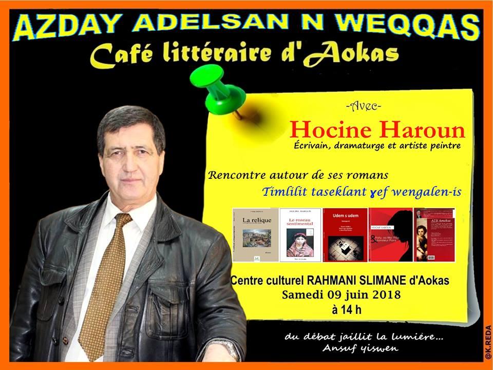 Hocine Haroun à Aokas le samedi 09 juin 2018 10430