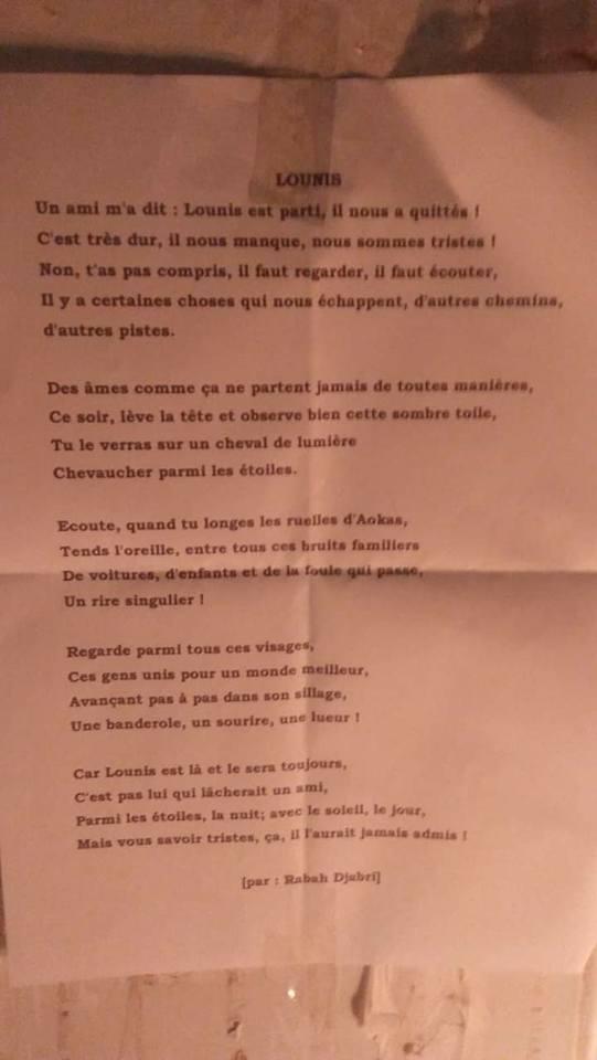 Aokas rend hommage à Lounis Louacini le jeudi 29 novembre 2018 - Page 2 10499