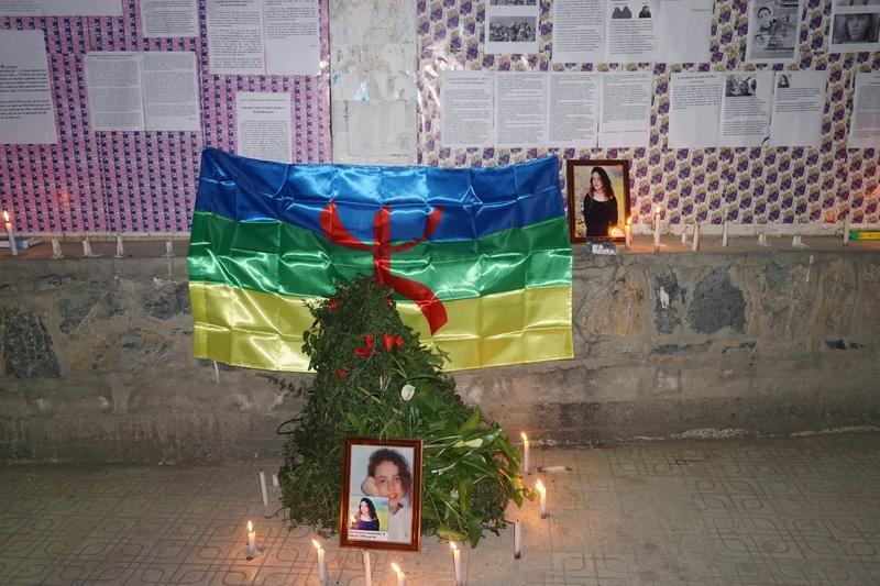 Aokas rend hommage à Katia Bengana le 28 février 2018 11245