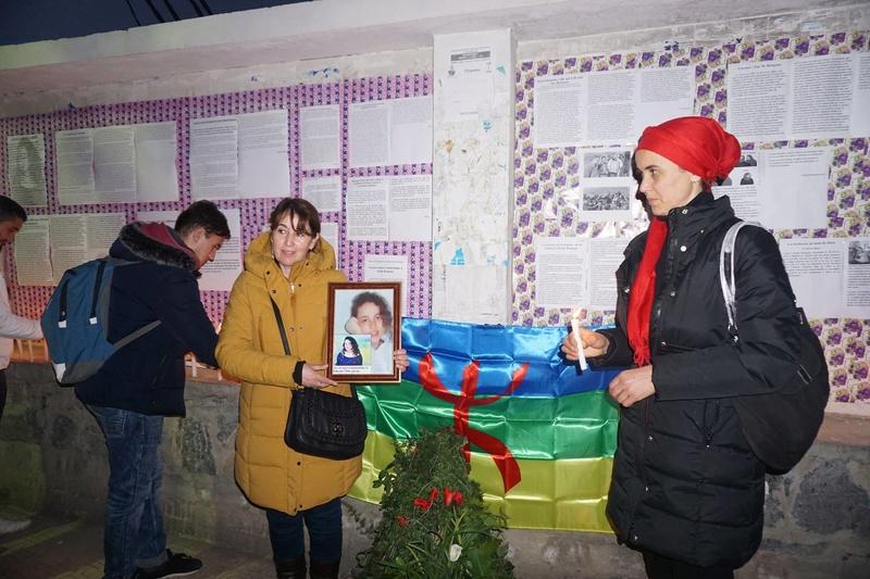 Aokas rend hommage à Katia Bengana le 28 février 2018 11251