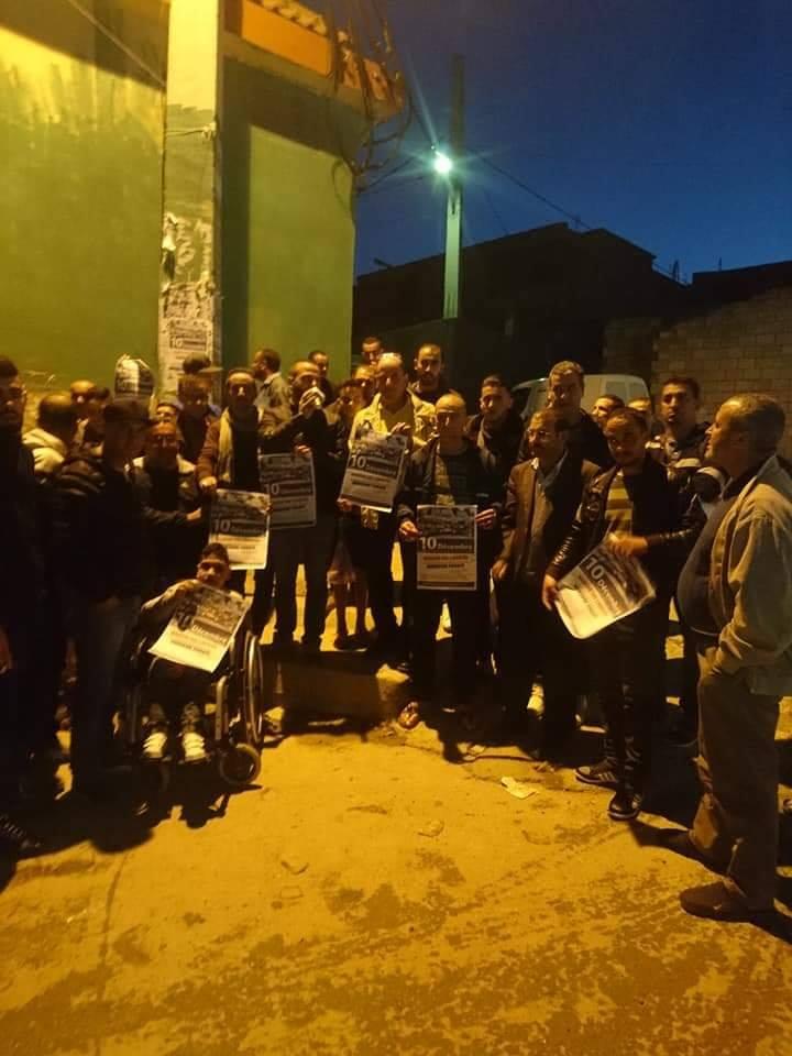 Les habitants de Laazib Oumaamar, Bgayet solidaire avec leur voisin Merzouk Touati 11334