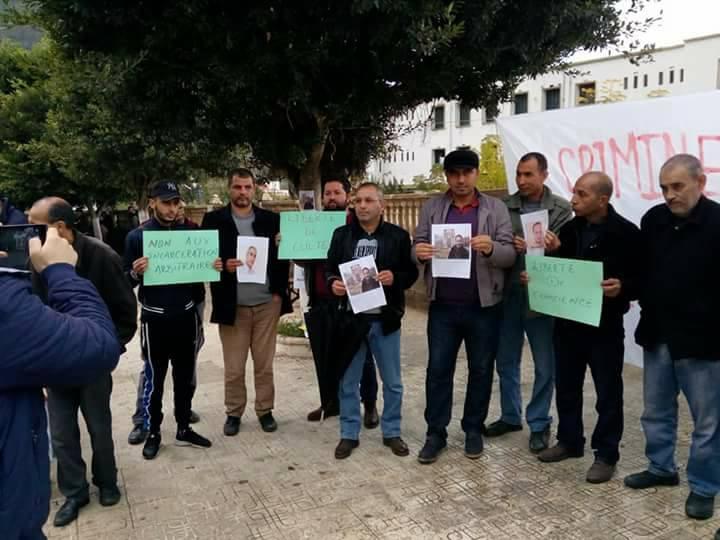 Rassemblement à Aokas le samedi 18 novembre 2017 pour la libération de:  Slimane Bouhafs Merzouk Touati Said Chitour 1317