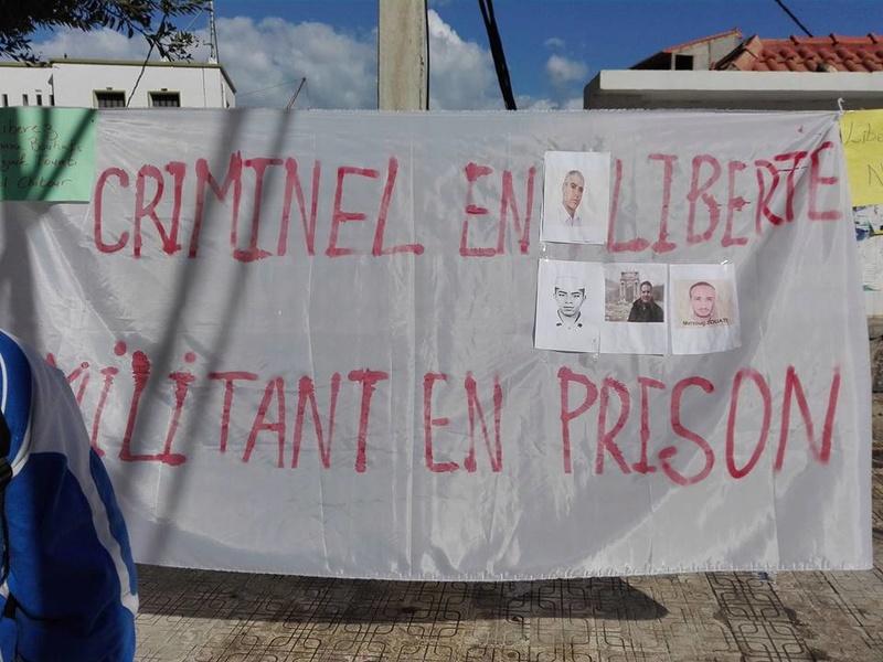 Aokas : Un rassemblement en soutien aux détenus d'opinion 18 novembre 2017 1335