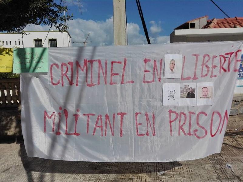 Aokas : Un rassemblement en soutien aux détenus d'opinion 18 novembre 2017 1338