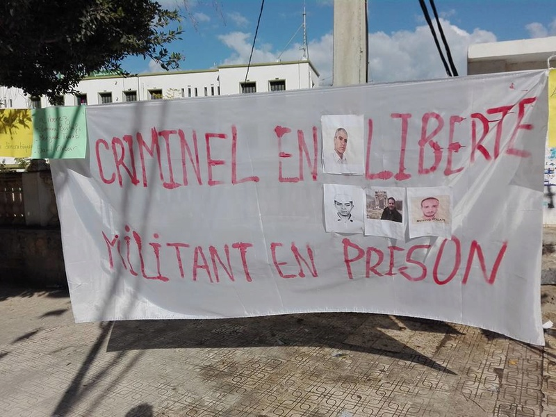 Aokas : Un rassemblement en soutien aux détenus d'opinion 18 novembre 2017 1339