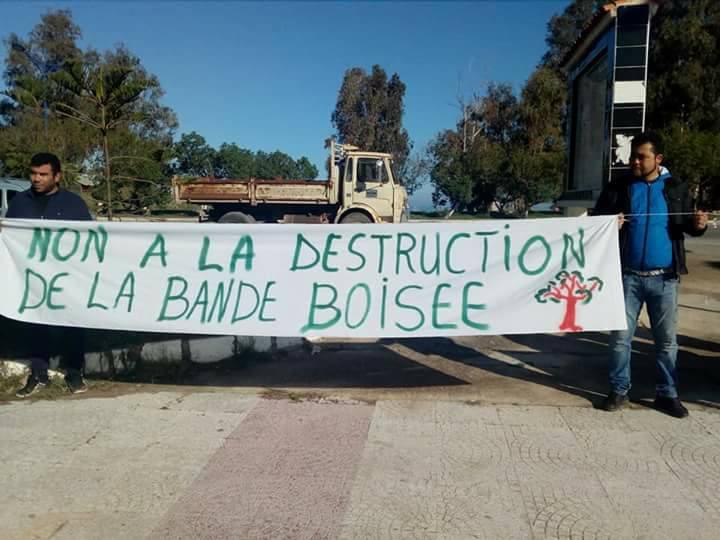 Aokas: Rassemblement devant le siège de l'APC pour dire NON à la destruction de la bande boisée 06 décembre 2017 1469