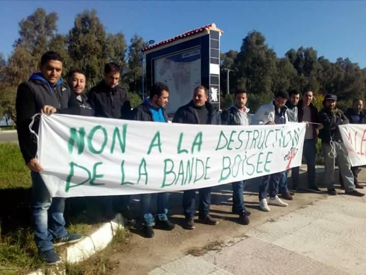 Aokas: Rassemblement devant le siège de l'APC pour dire NON à la destruction de la bande boisée 06 décembre 2017 1470