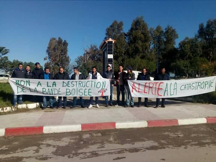 Aokas: Rassemblement devant le siège de l'APC pour dire NON à la destruction de la bande boisée 06 décembre 2017 1471