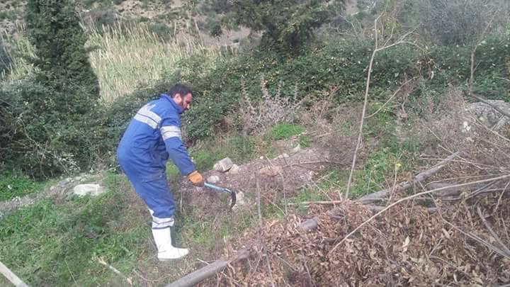 Taremant ( Aokas) 15 décembre 2017 Volontariat de nettoyage 1644