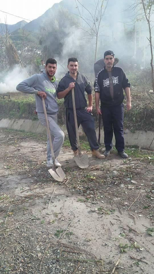 Taremant ( Aokas) 15 décembre 2017 Volontariat de nettoyage 1650