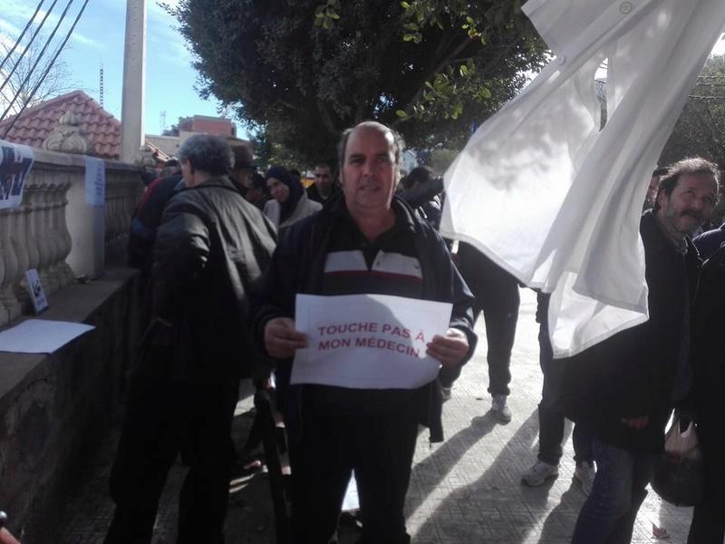 Aokas est solidaire avec les médecins résidents le samedi 06 janvier 2018 1838