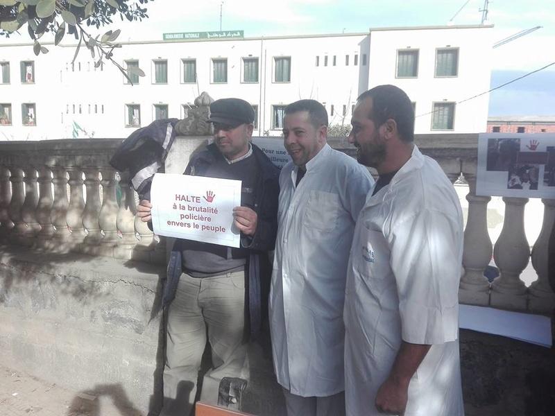 Aokas est solidaire avec les médecins résidents le samedi 06 janvier 2018 1845