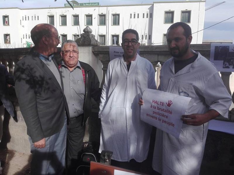 Aokas est solidaire avec les médecins résidents le samedi 06 janvier 2018 1848