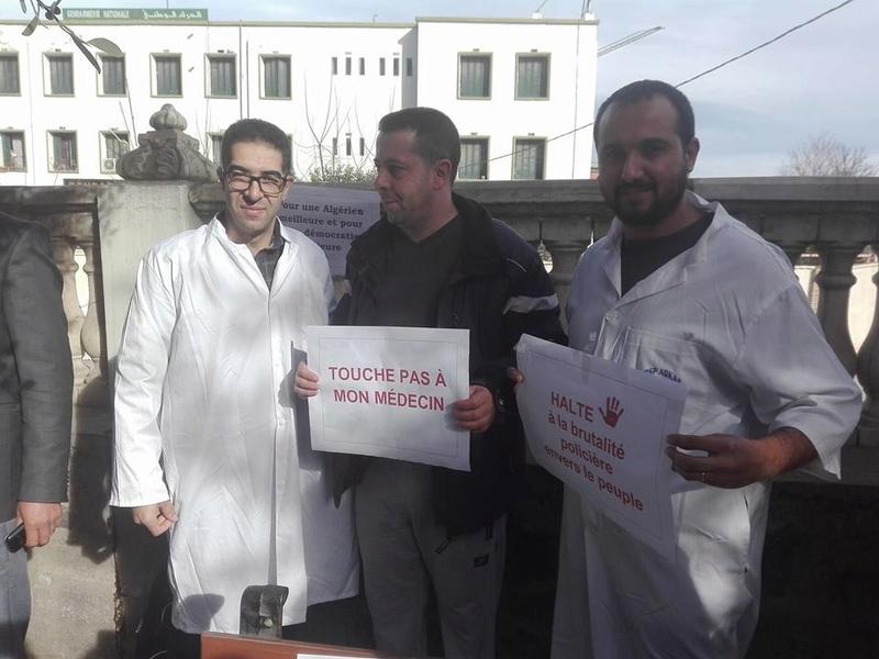 Aokas est solidaire avec les médecins résidents le samedi 06 janvier 2018 1850
