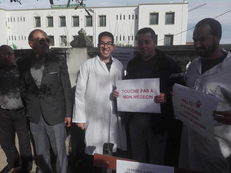 Aokas est solidaire avec les médecins résidents le samedi 06 janvier 2018 1851