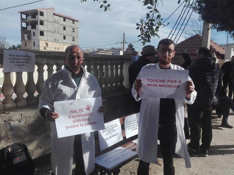 Aokas est solidaire avec les médecins résidents le samedi 06 janvier 2018 1855