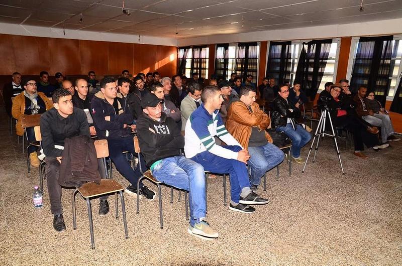 Excellente conférence de Djamel Taibi à Aokas le samedi 06 janvier 2018 1882
