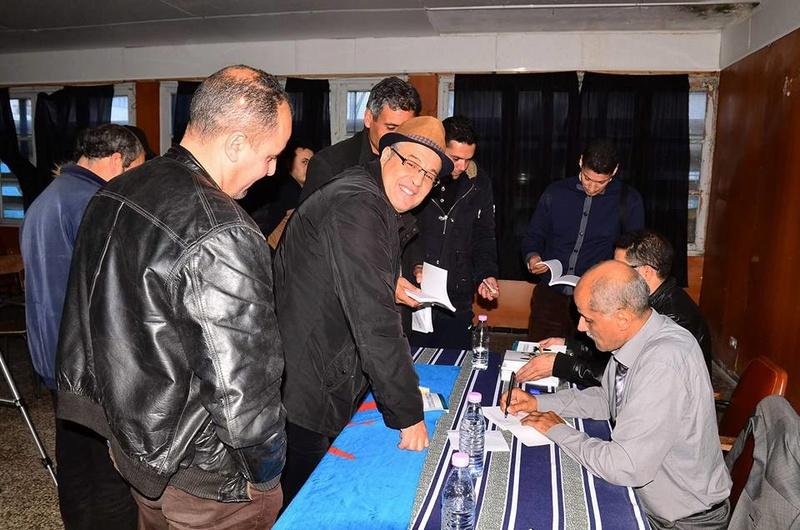 Excellente conférence de Djamel Taibi à Aokas le samedi 06 janvier 2018 1884