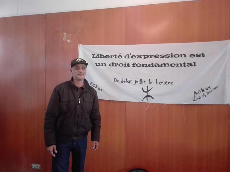 Djamel Taibi, un ami du café littéraire d'Aokas, qui se déplace régulièrement d'Alger pour assister aux conférences à AOKAS  1970