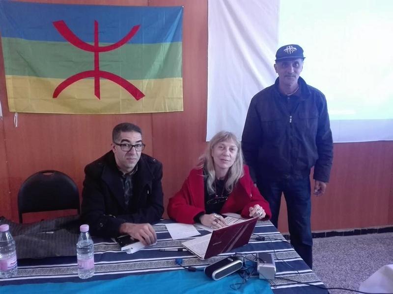 Djamel Taibi, un ami du café littéraire d'Aokas, qui se déplace régulièrement d'Alger pour assister aux conférences à AOKAS  1971