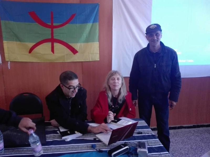 Djamel Taibi, un ami du café littéraire d'Aokas, qui se déplace régulièrement d'Alger pour assister aux conférences à AOKAS  1972