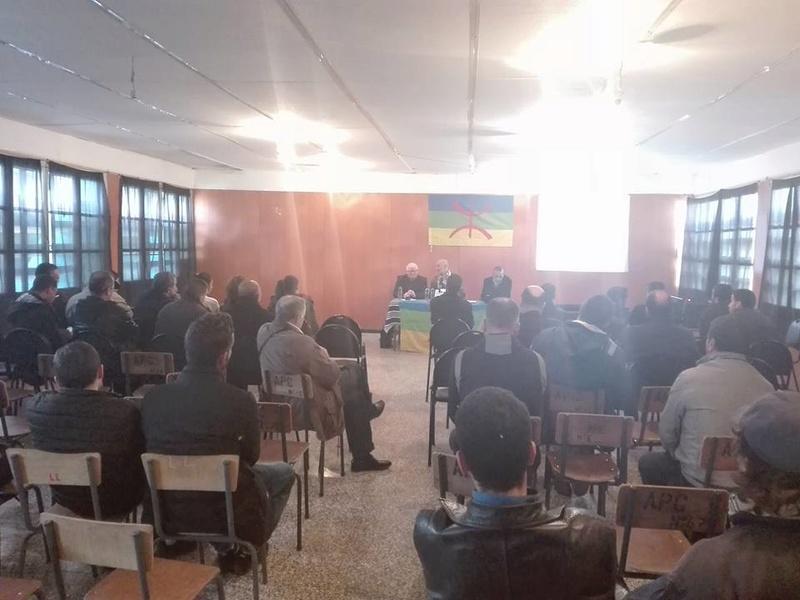 Kamel Drici et Slimane Belharet  à Aokas le samedi 13 Janvier 2018 2022